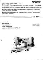 BROTHER LT2-B875 Parts Book Is HERE