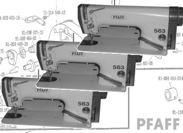 PFAFF 463 481 483 & 563 - Parts & Needles For - UK Based
