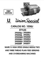 UNION SPECIAL 39500 Mk4 Parts & Instructions