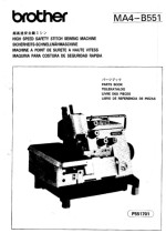 Brother MA4-B551 Parts Book