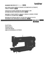 BROTHER DB2-B737 Exedra (E40 F40) Parts Book