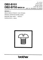 BROTHER DB2-B733 Mk3A (B101) Parts Book