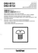 BROTHER DB2_B721 Parts List