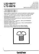 BROTHER LS2-B877 & LT2-B878 Parts Book