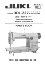 FREE Parts Lists & Parts Books For All Por Industrial Sewing ...