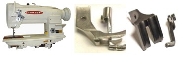 For CONSEW Piping Feet - Call Us