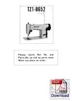 BROTHER TZ1-B652 Parts Book